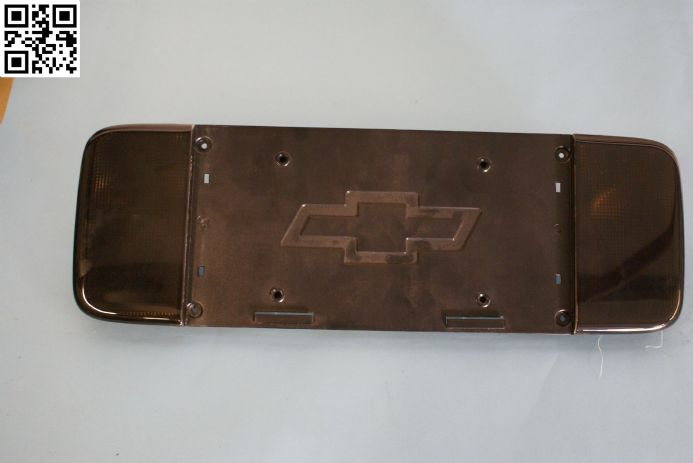1997- 2004 Corvette C5 TINTED Reverse Light & Licence Plate Mount, New